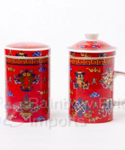 Tea Cup Jar